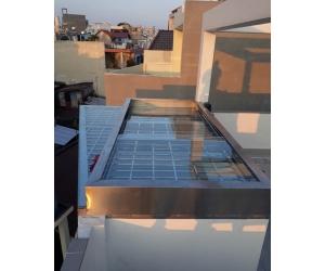Công trình thi công giếng trời tại Long An